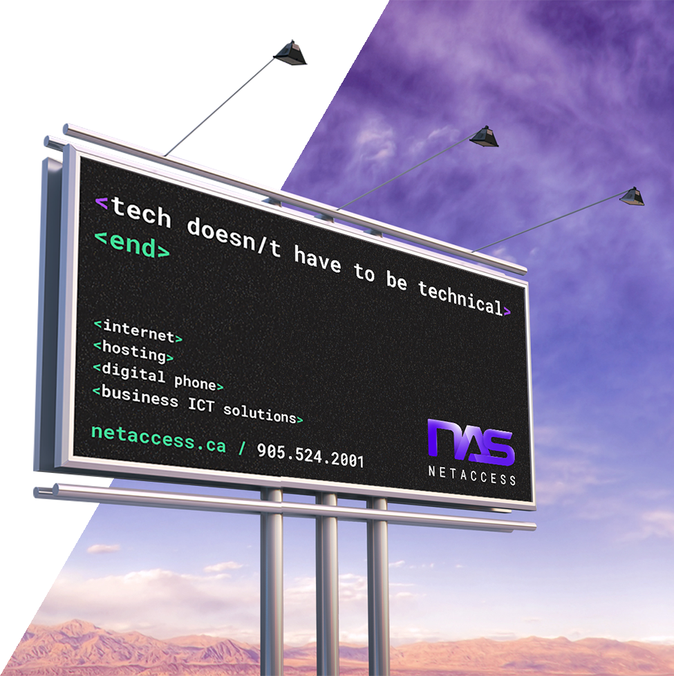 NetAccess Billboard